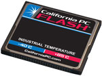 California PC FLASH - Industrial Grade CompactFlash